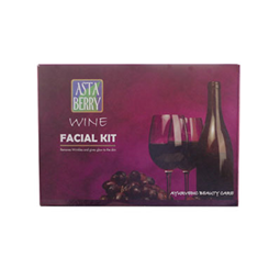 Asta Berry Wine Facial Kit