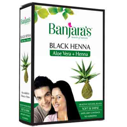 Banjaras Black Henna With Aloevera