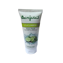 Banjaras Cucumber Face Pack Deep Clean And Moisturing