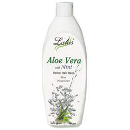 Lalas Aloe Vera Mint Hair Wash