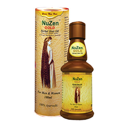 Nuzen Gold Hair Oil