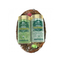 Gift Basket Pack-Tulsi Original And Tulsi Green Tea