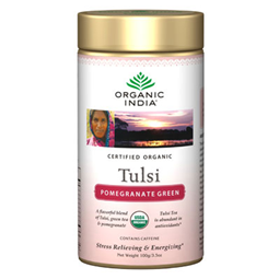 Organic India Tulsi Green Pomegranate