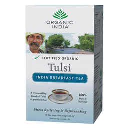 Organic India Tulsi Tea India Breakfast