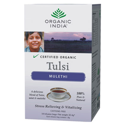 Organic India Tulsi Tea Mulethi