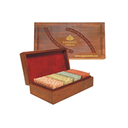 Organic India Wooden Box Big