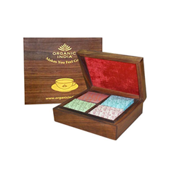 Organic India Wooden Box Small