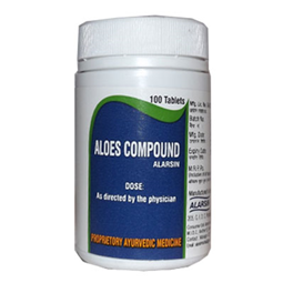 Alarsin Aloes Compound Tablets